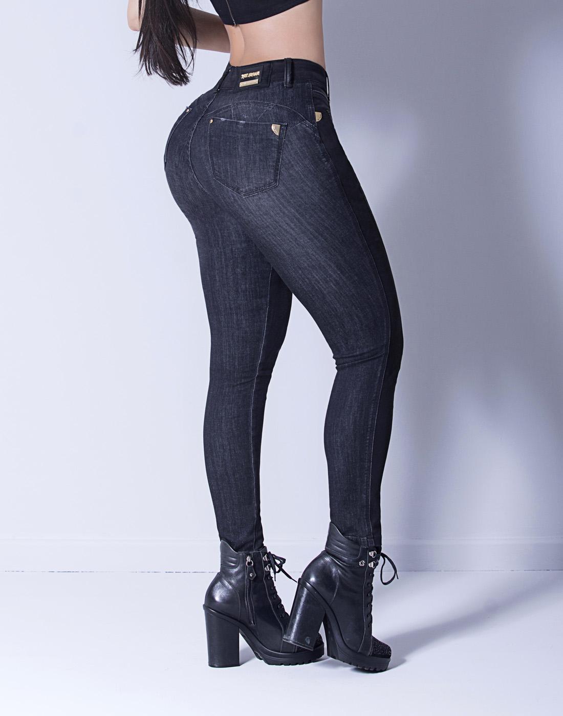 Calça Cigarrete Skinny Luxo Set Jeans
