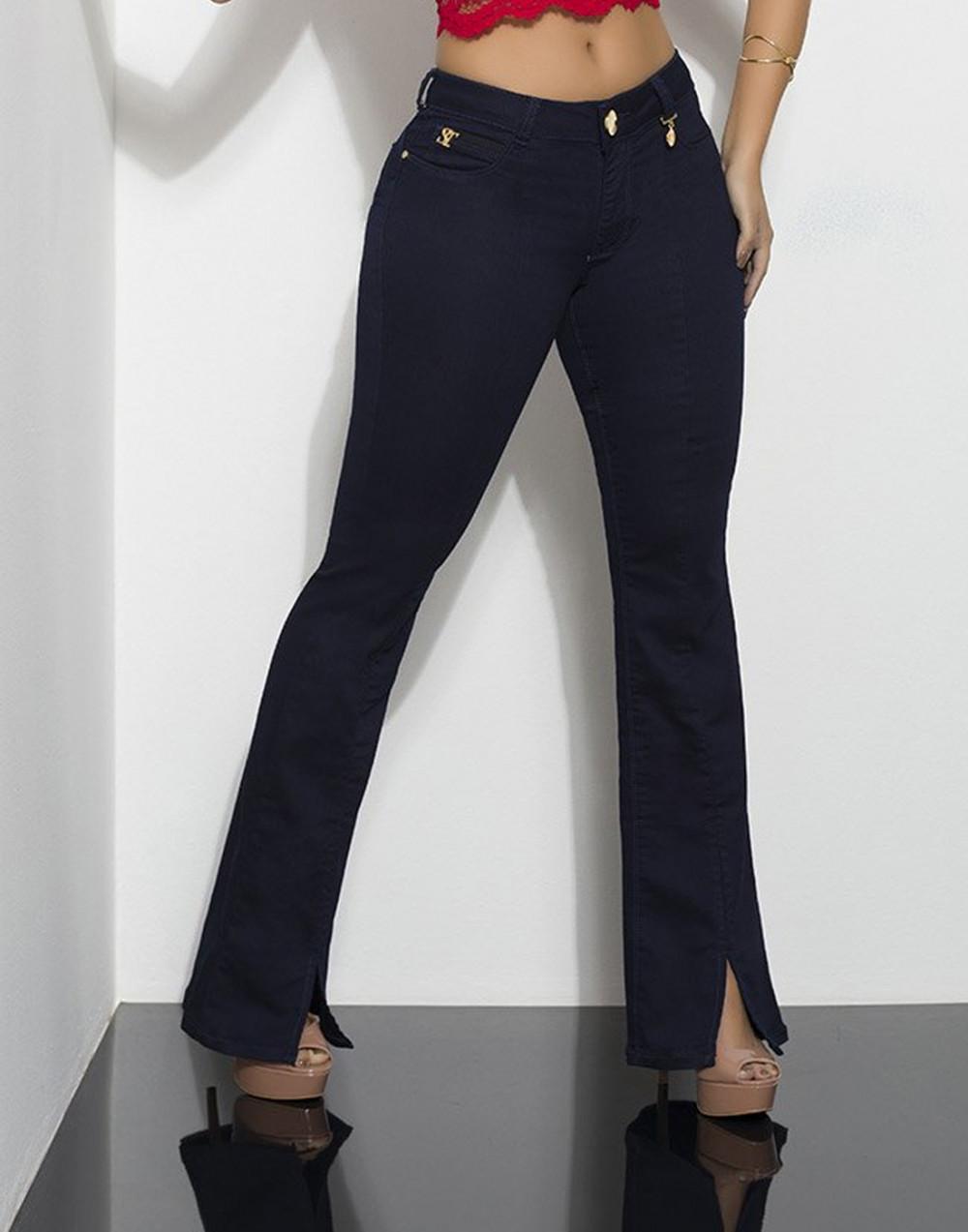 Calça Jeans Flare Curve Intermediária Set Jeans