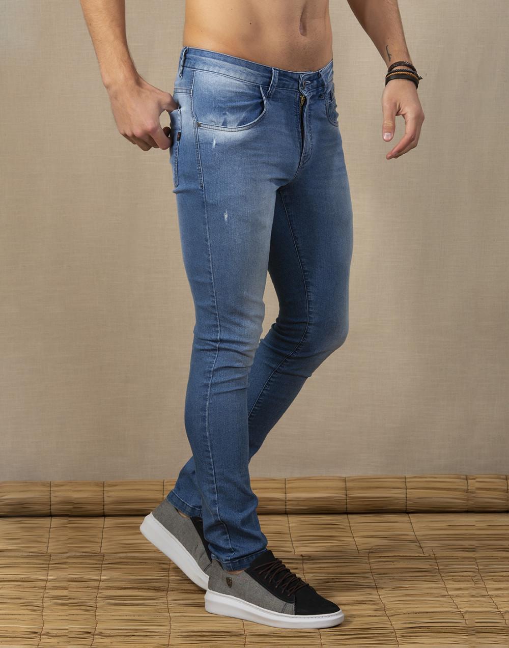 Calça Jeans Skinny Sallo