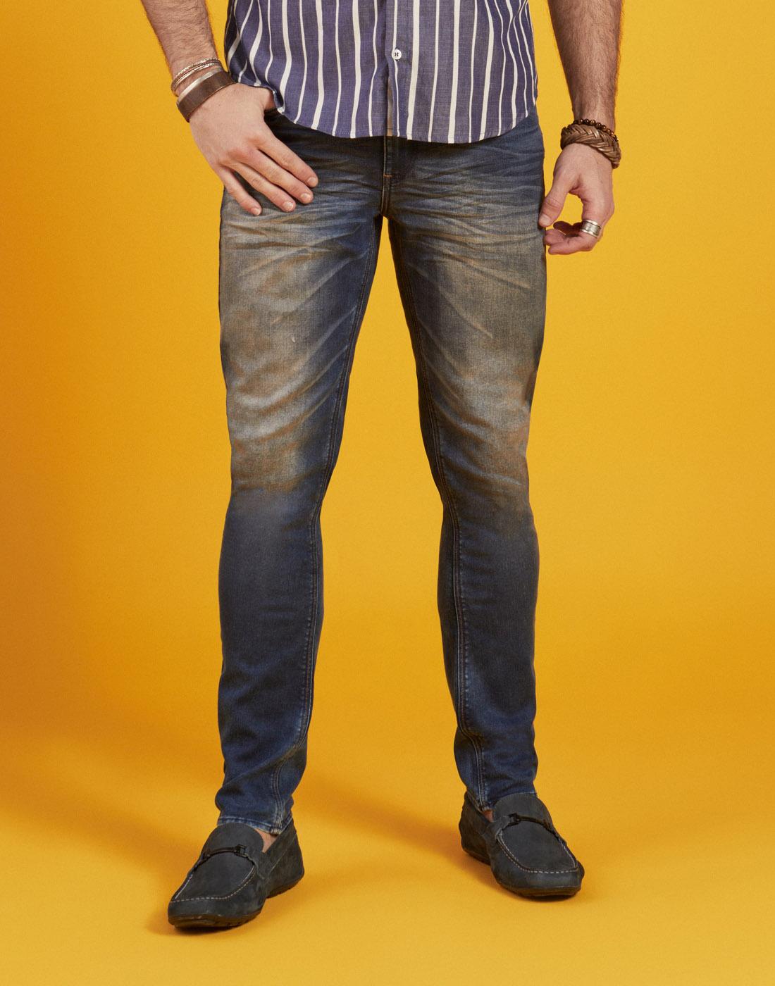 Calça Masc. Jeans Destroyer Six One