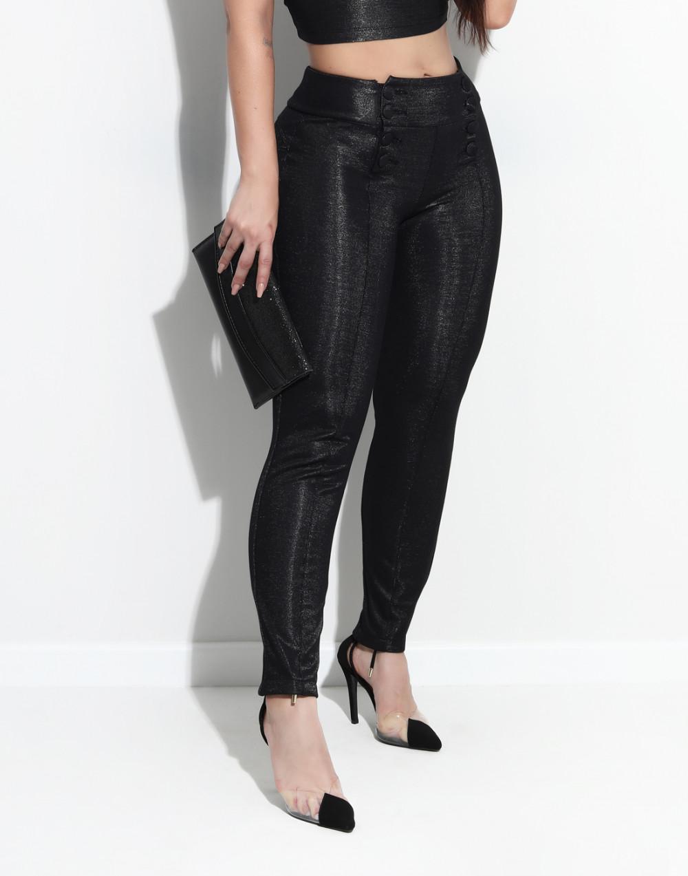 Calça Montaria Cintura Média Set Jeans