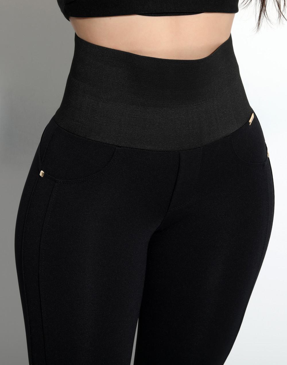 Calça Montaria Modeladora Preto Set Jeans