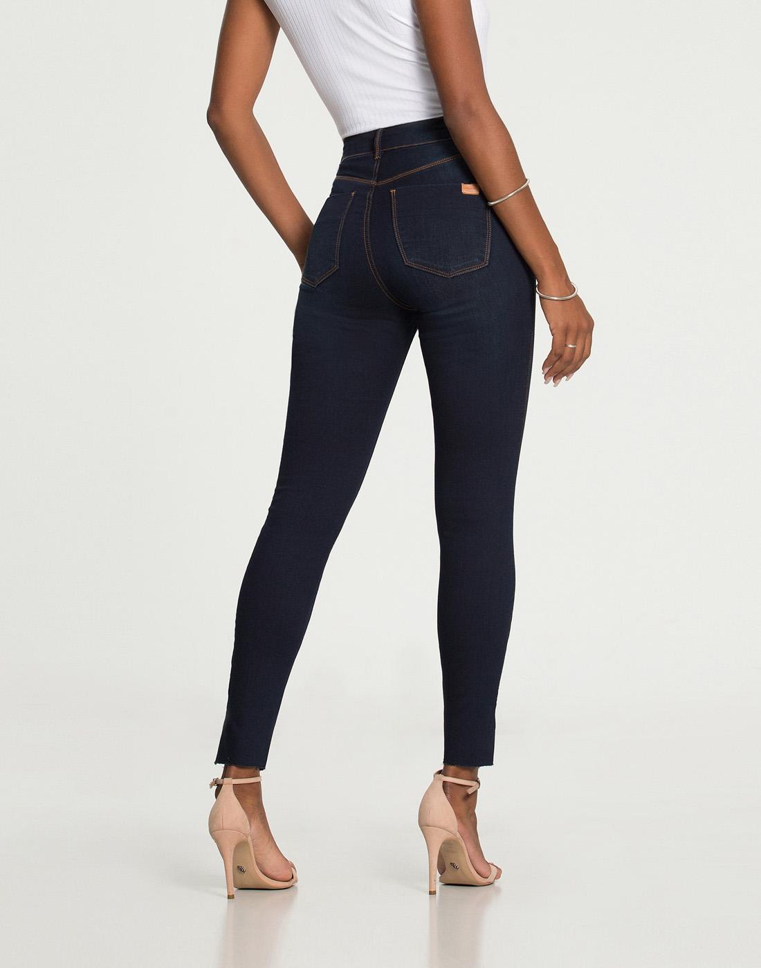 Calça Skinny Cropped Fit For Me Jeans Lunender