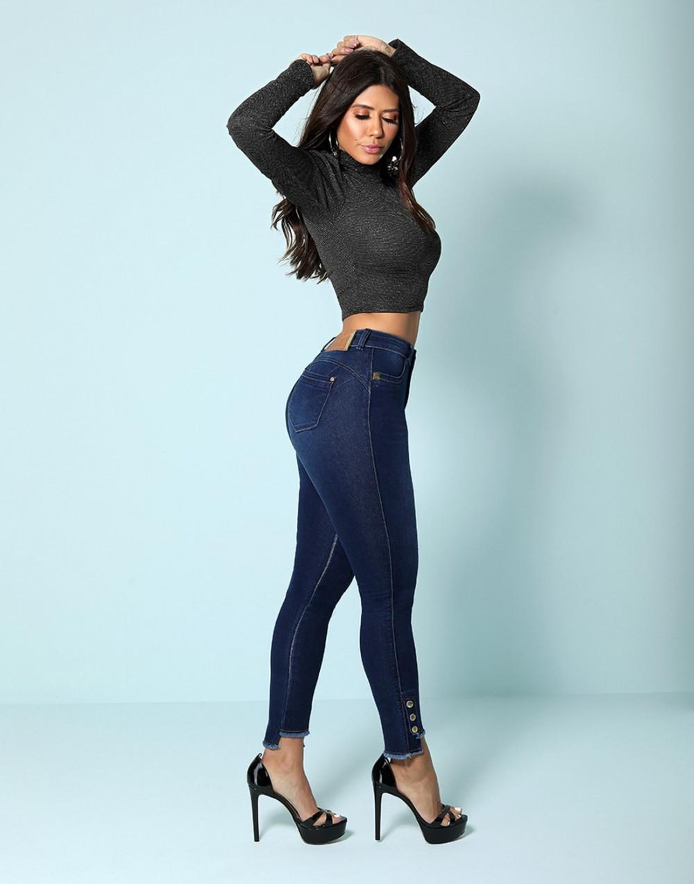 Calça Super Lipo Intermediária Set Jeans
