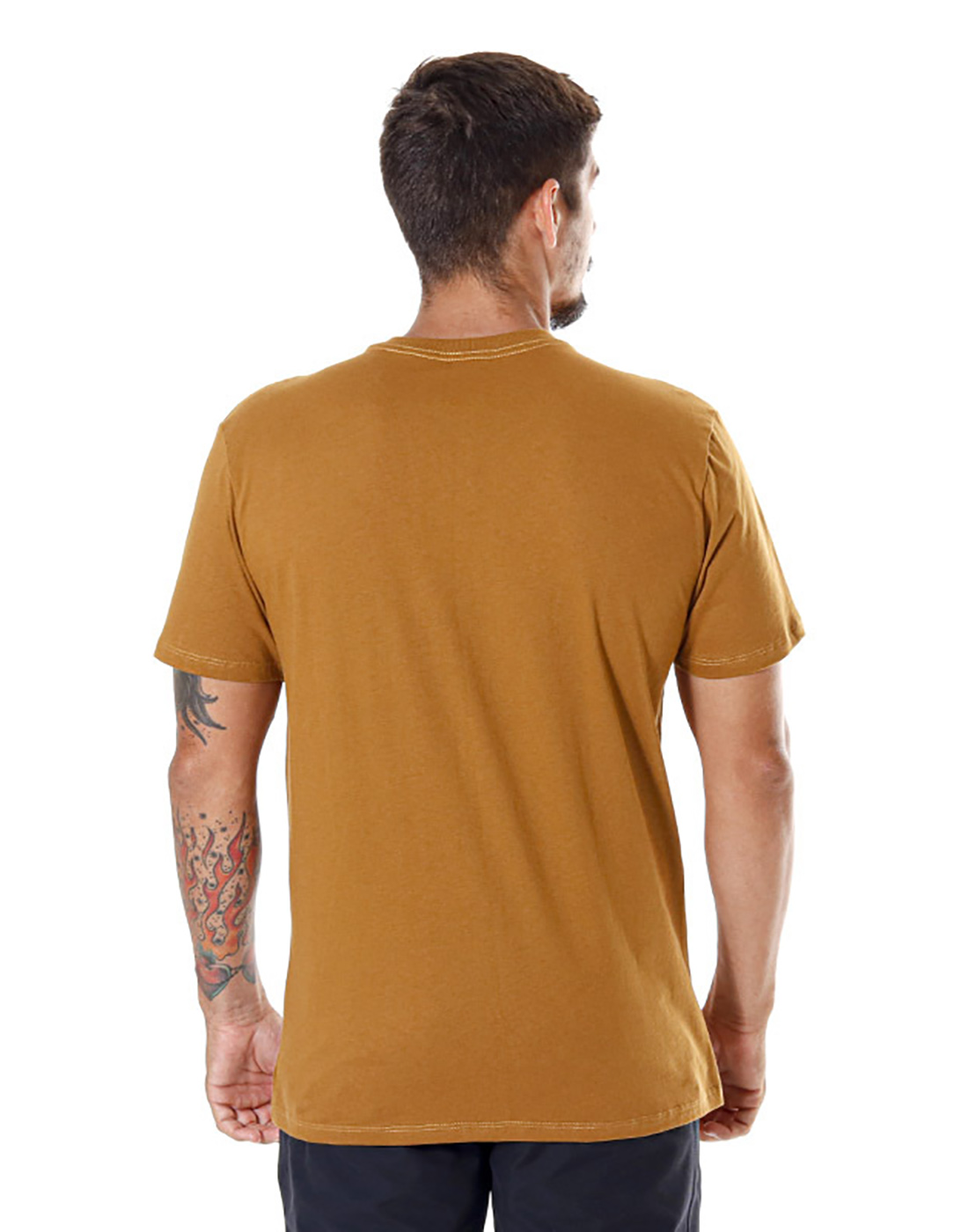 Camiseta Estampada Adrenalina Ocre Pena