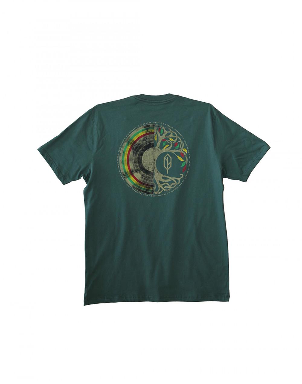 Camiseta Estampada Árvore do Reggae Pena