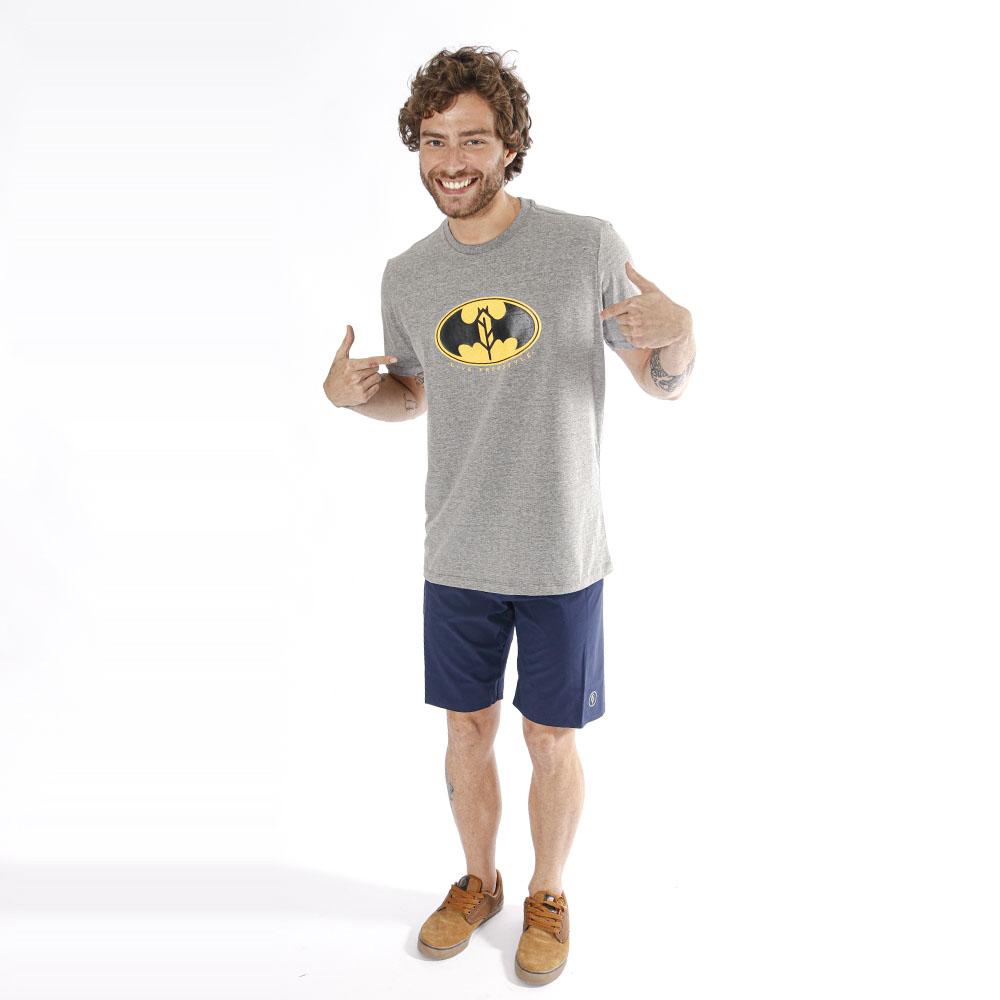 Camiseta Estampada Batman Mescla Pena
