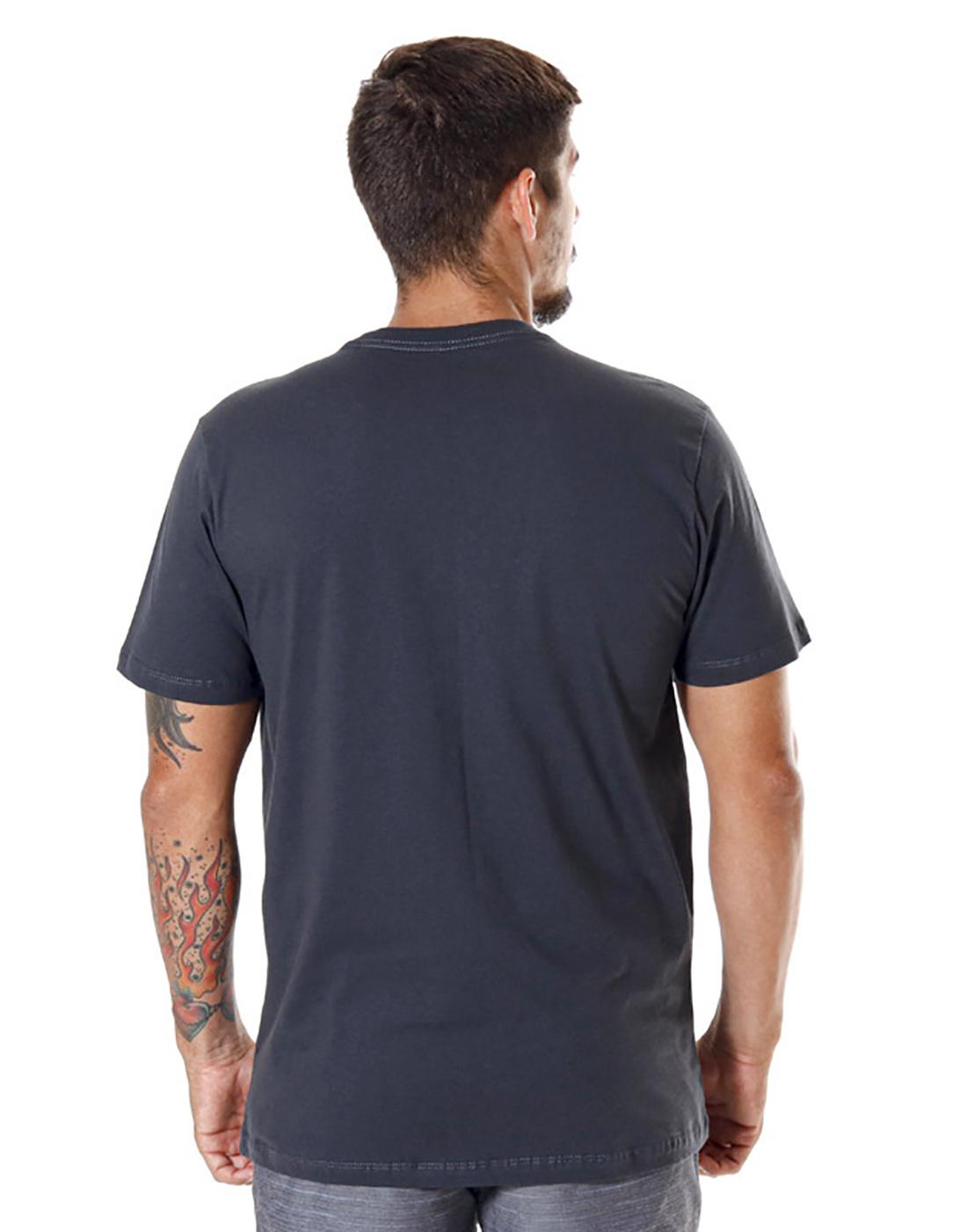 Camiseta Estampada Endorfina Chumbo Pena