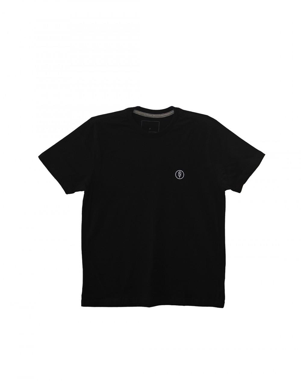 Camiseta Estampada Free Preto Pena