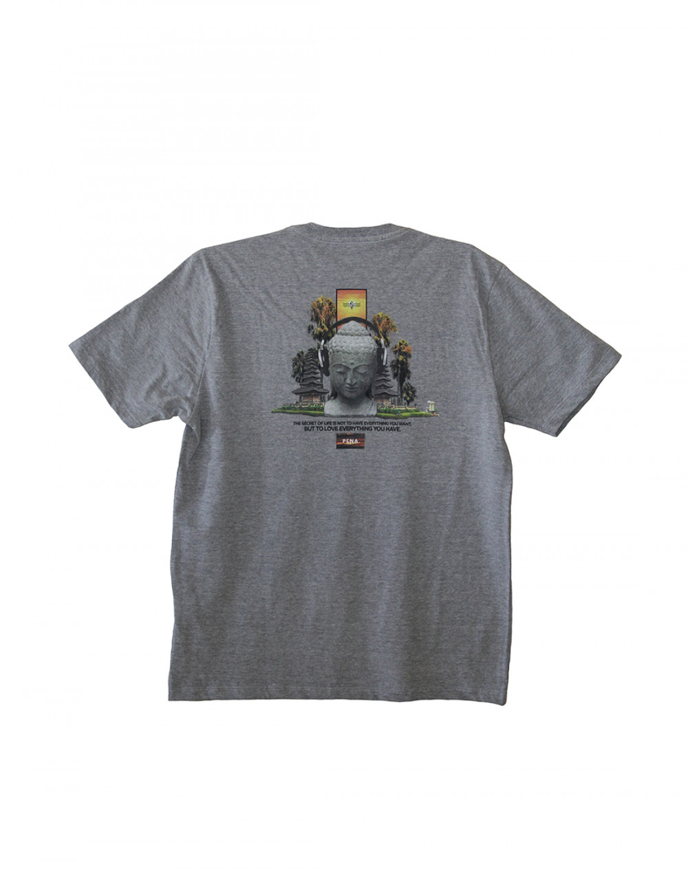 Camiseta Estampada Life Pena