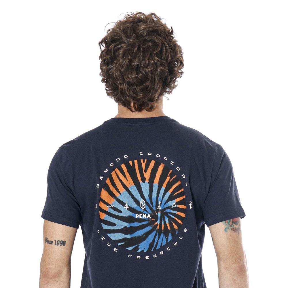 Camiseta Estampada Psycho Marinho Pena