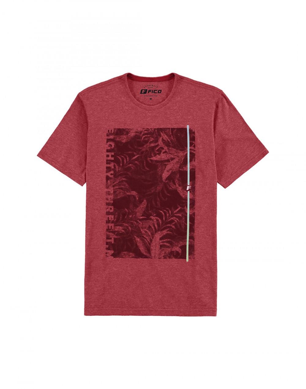 Camiseta Malha View Flex Vermelho Fico