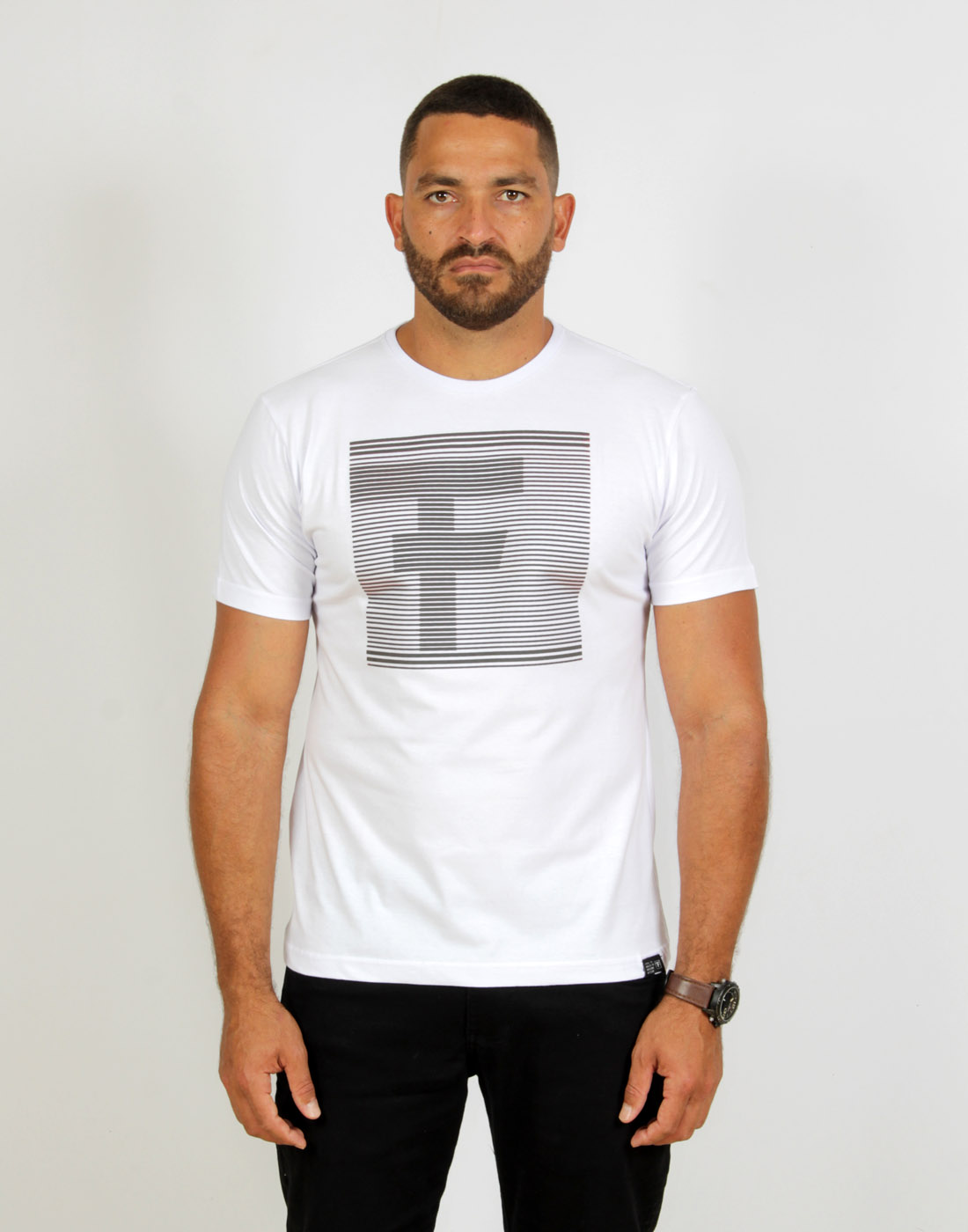 Camiseta Masc. Estampada F Fatal