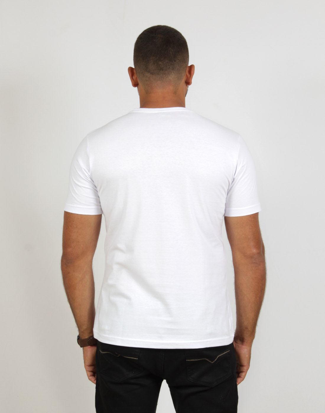 Camiseta Masc. Fashion Basic Branco Fatal