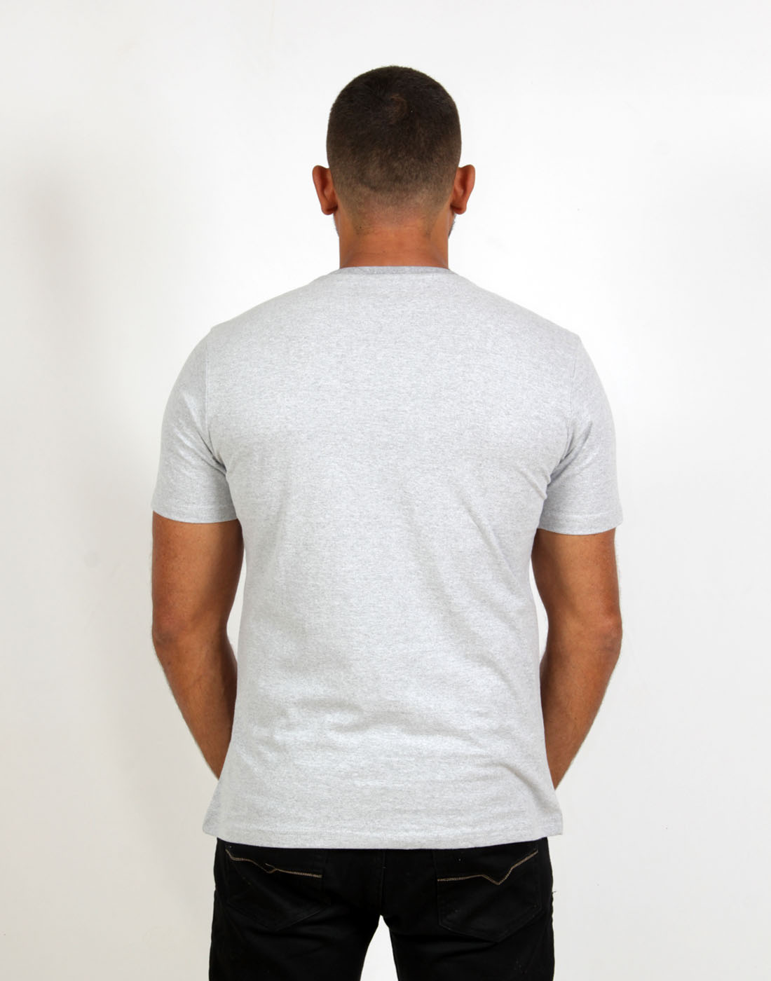Camiseta Masc. Fashion Basic Mescla  Fatal