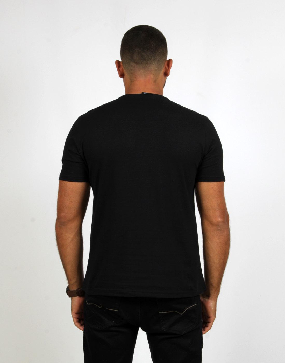 Camiseta Masc. Fashion Basic Preto Fatal