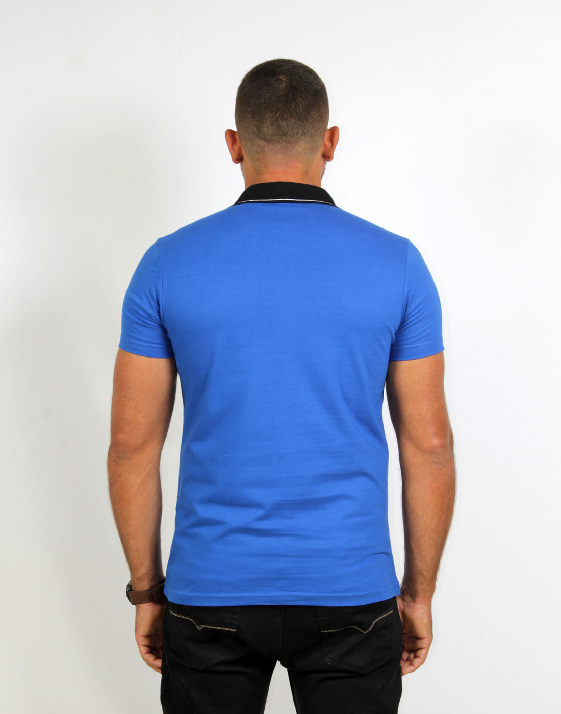 Camiseta Polo Masc. Lisa Fatal