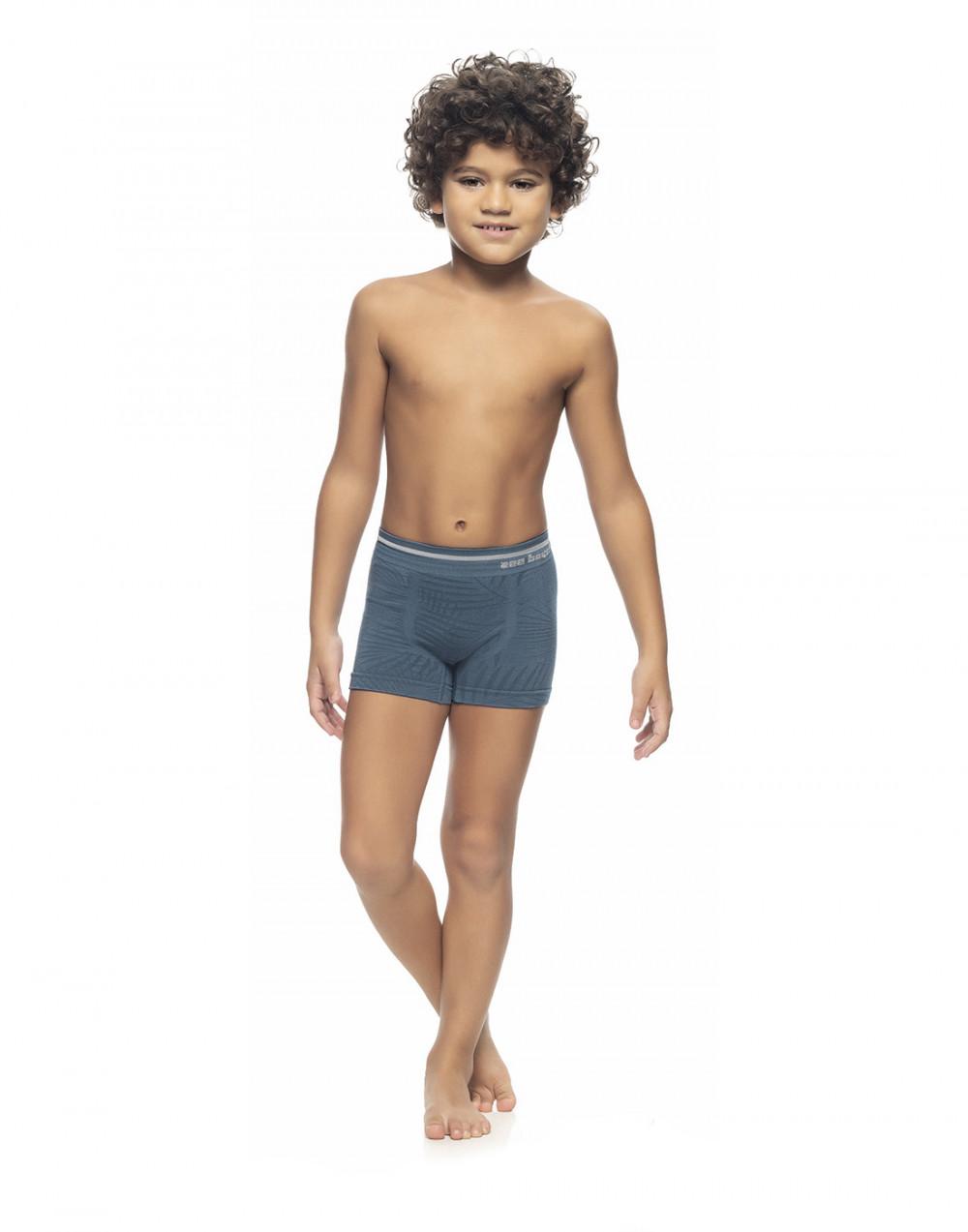 Cueca Boxer Infantil Jacquard Sem Costura Zee Rucci