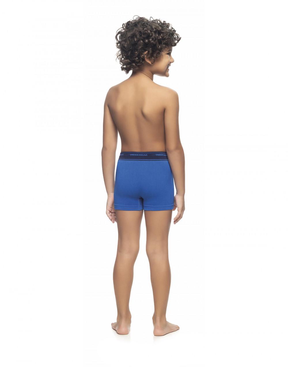 Cueca Boxer Infantil Sem Costura Zee Rucci