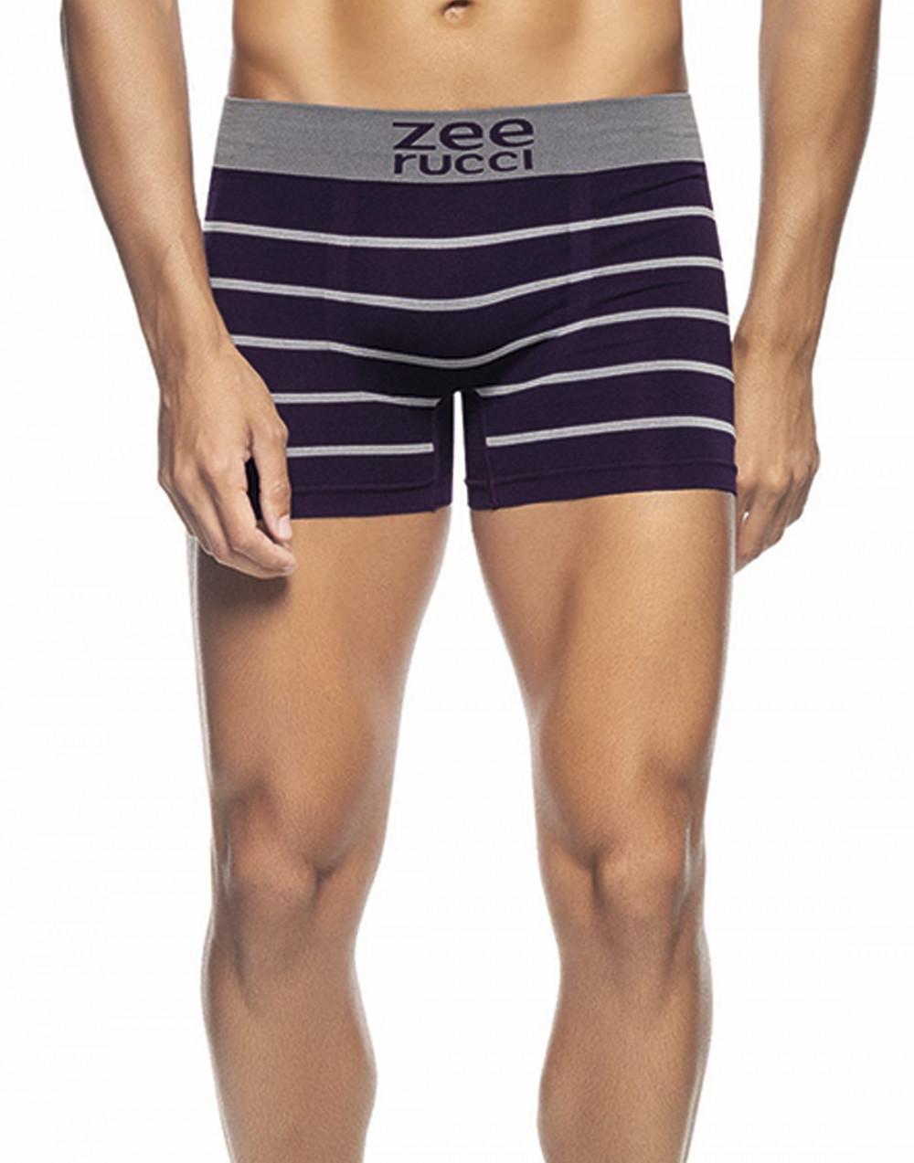 Cueca Boxer Listrada Sem Costura Zee Rucci
