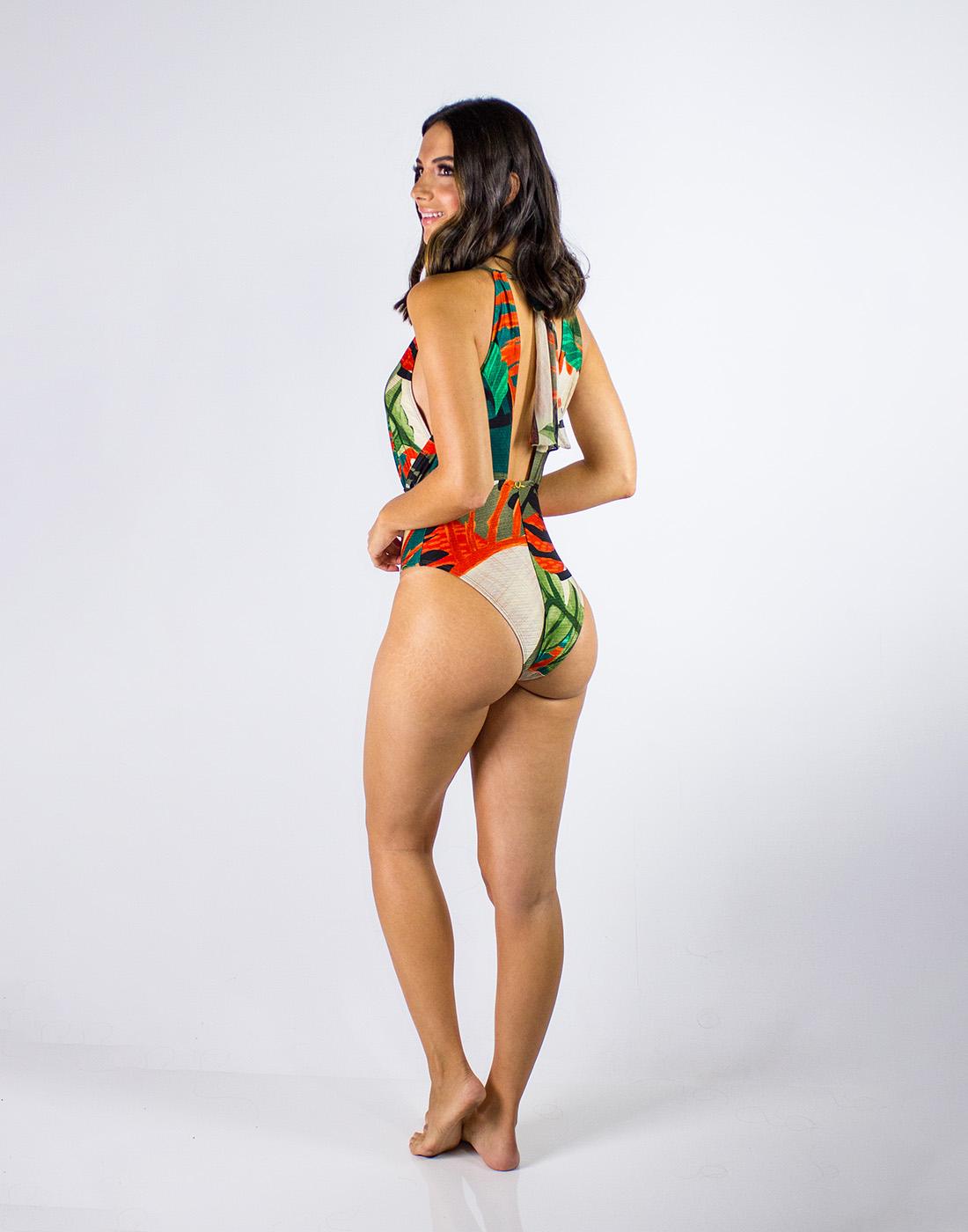 Maiô Gargantilha Lua Morena
