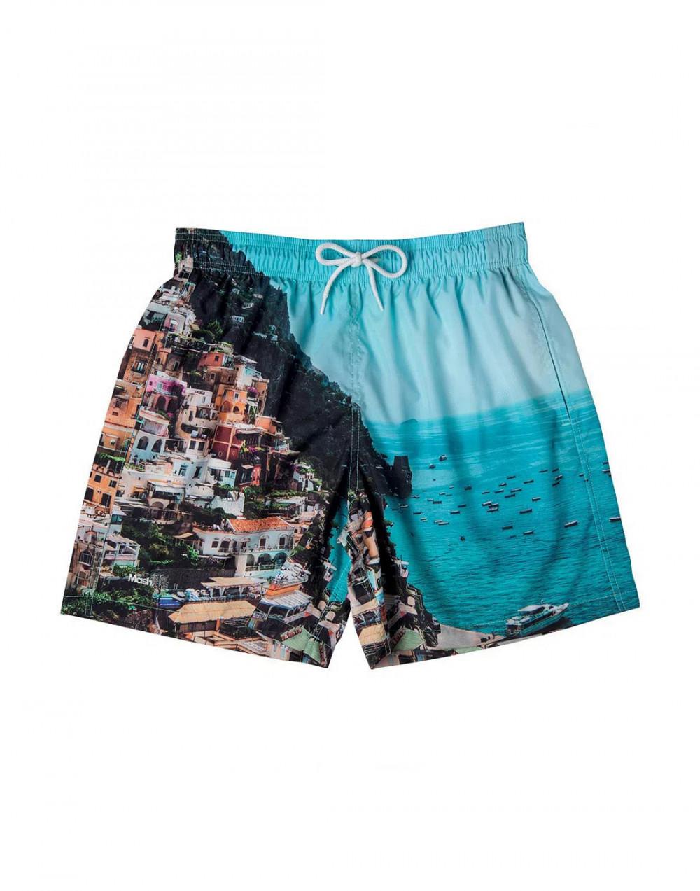 Shorts Estampado Destinos FPS 30 Mash