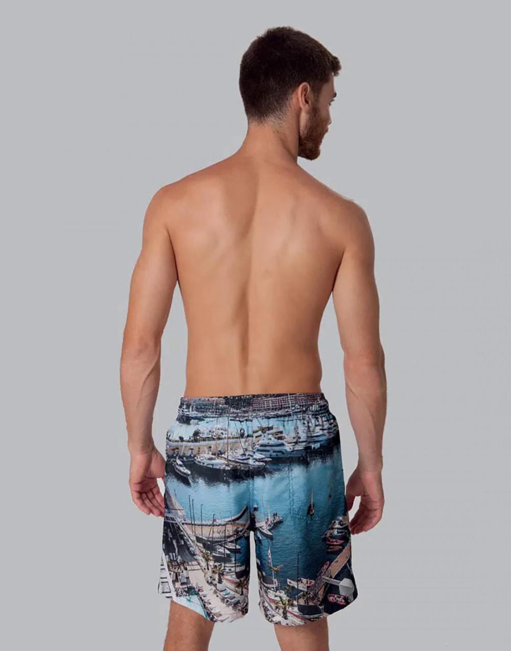 Shorts Estampado Paisagens FPS 30 Mash