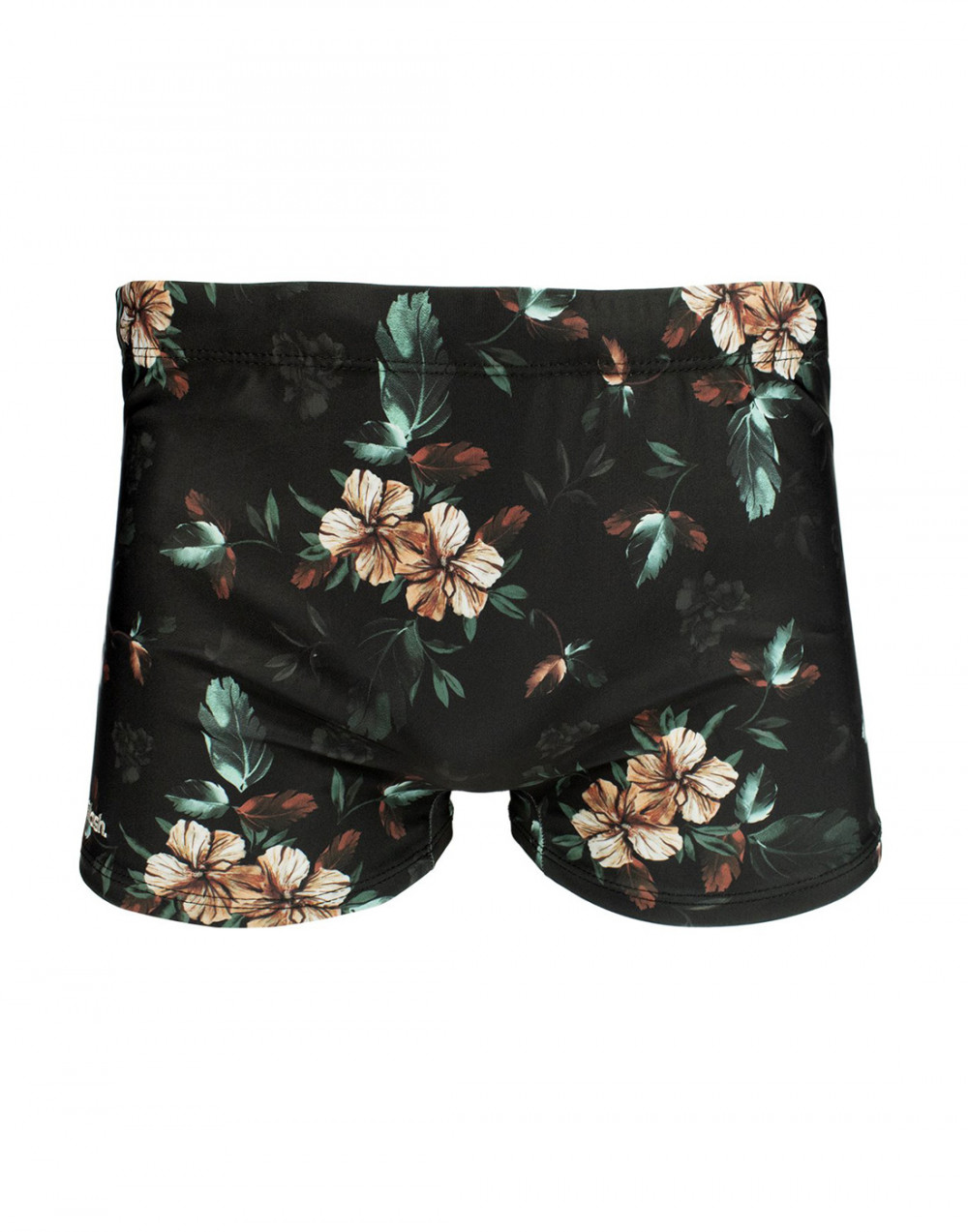Sunga Boxer Estampada Floral Sombreado Mash
