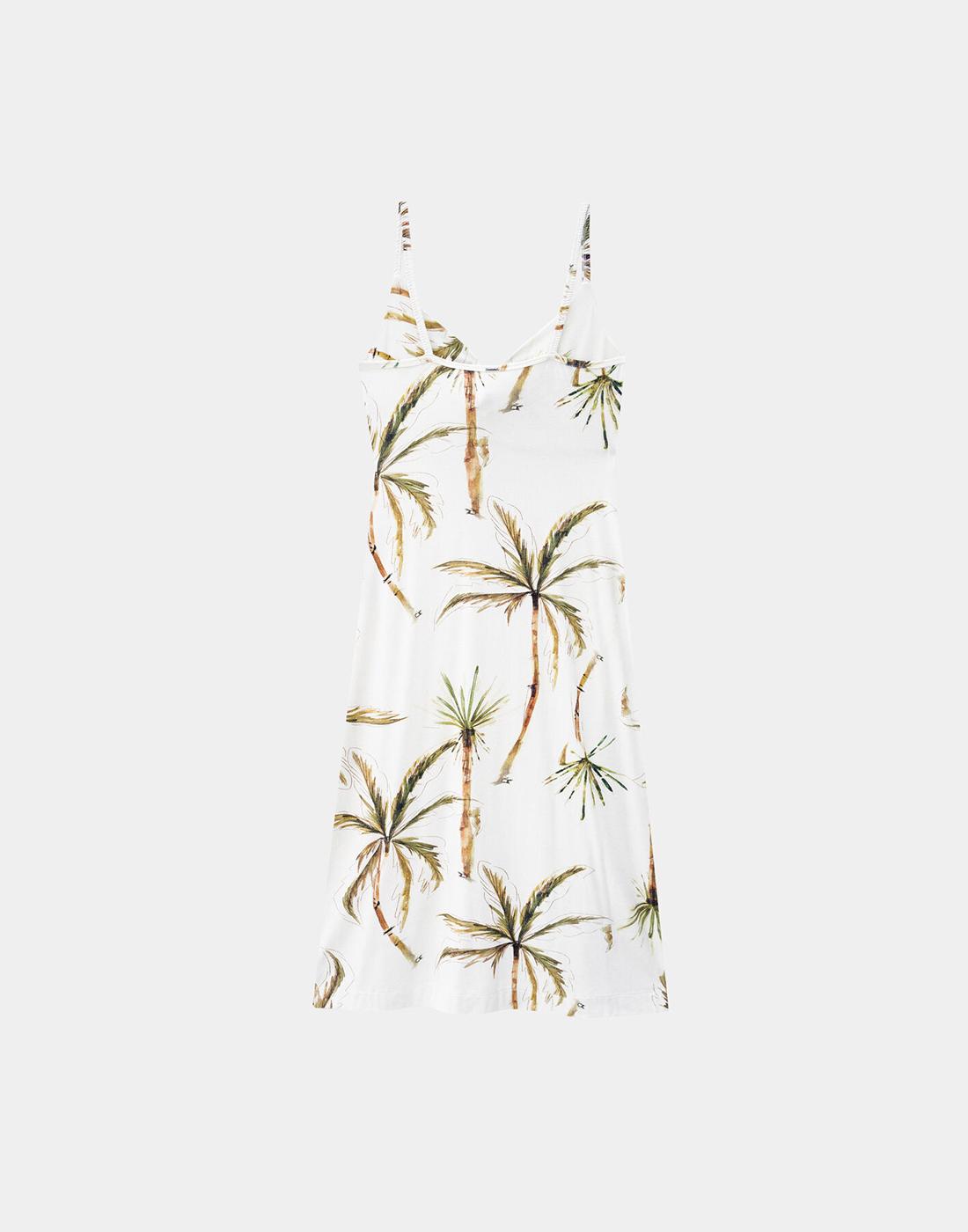 Vestido Midi Alcinha Malha Crepe Branco Off White Lunender
