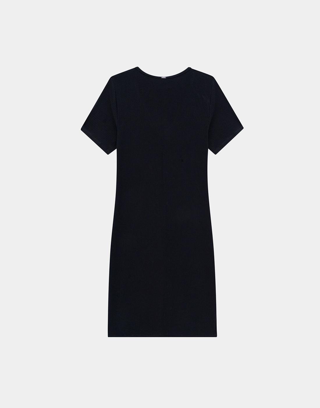 Vestido Midi Plus Size Malha Canelado Lunender Mais Mulher