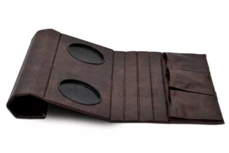 Bandeja para Braço de Sofá com Porta Copos e Controle Corino