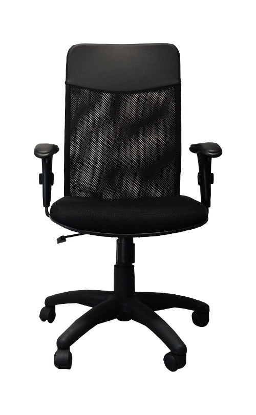 Cadeira Diretor Tela Mesh Base Giratória e Regulagem de Altura