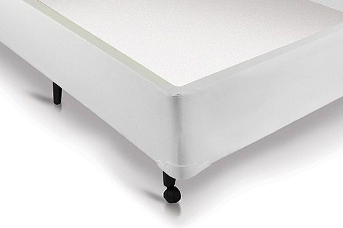 Cama Box Baú Universal Branco Castor