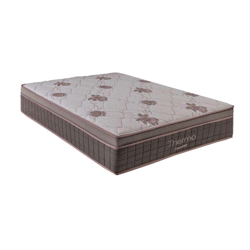 Colchão Casal com Aquecimento- Molas Ensacadas -110/220 volts Thermo I (34x138x188)