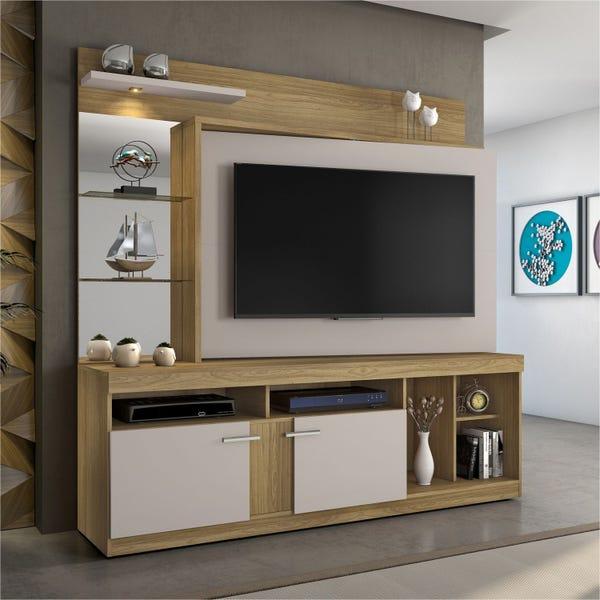 Home c/ Led e Espelho p/ TV até 56 Brasil