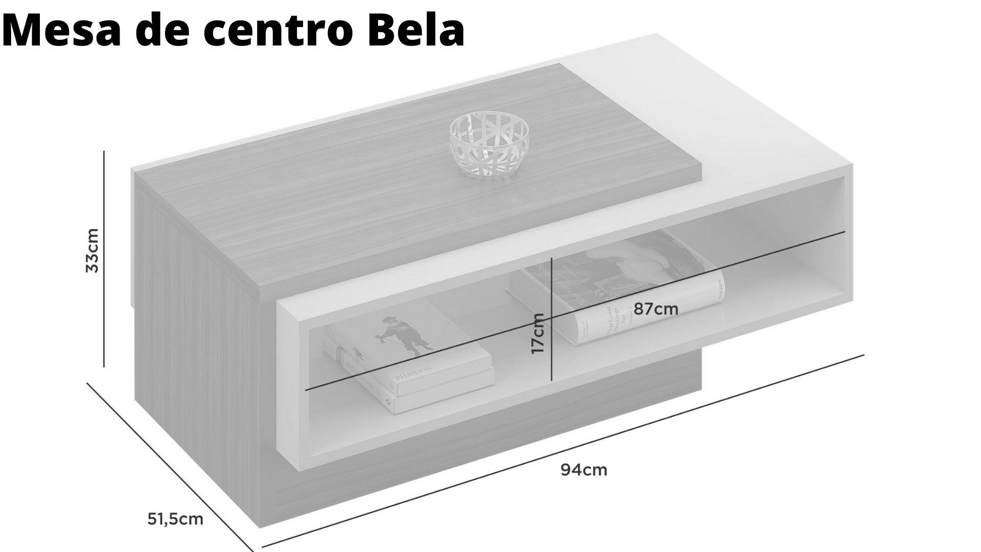 Mesa de Centro Bela