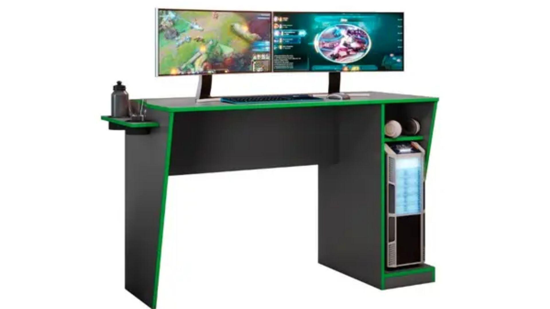 Mesa para computador Gamer Cyber