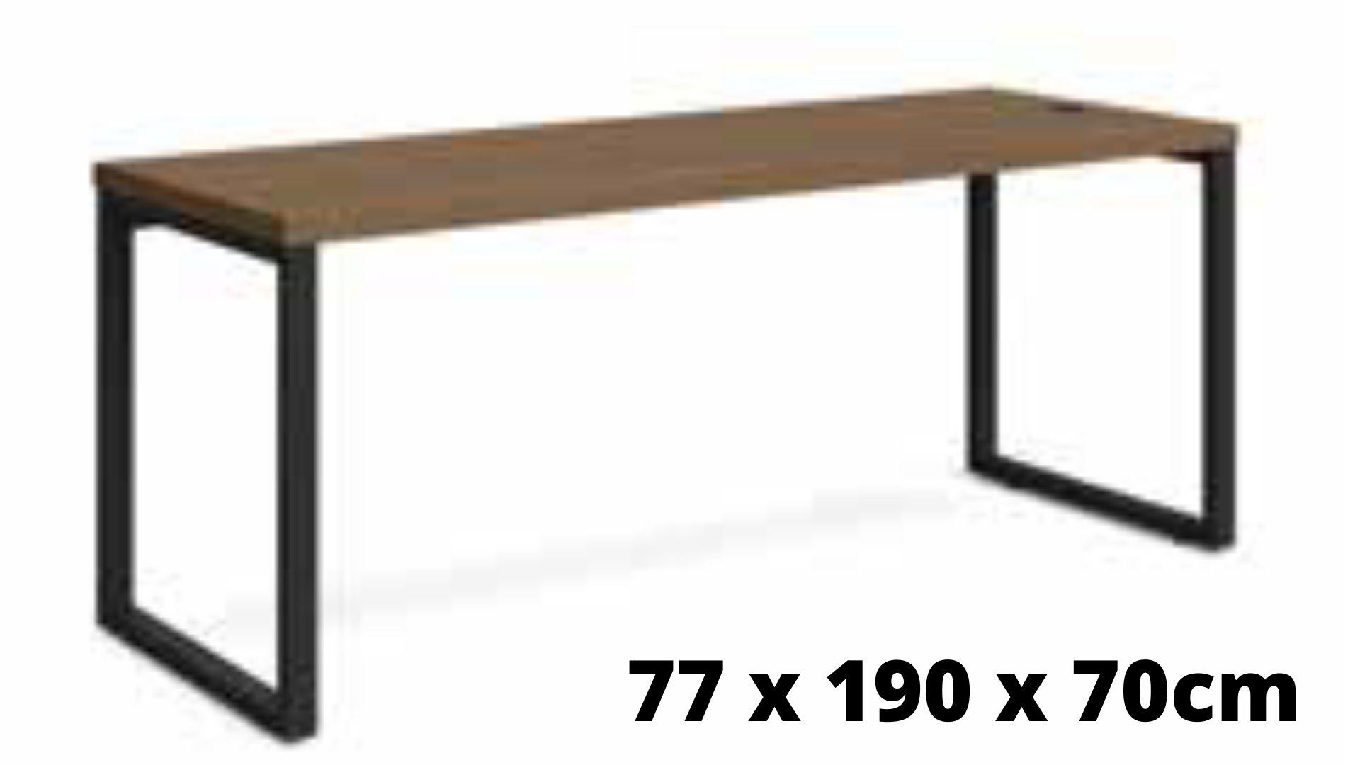Mesa de Escritório Diretor 190 cm Munique