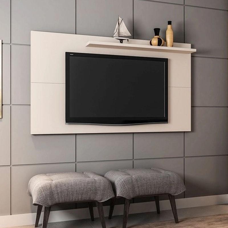 Painel Chanel para TV até 50 Polegadas Off-White