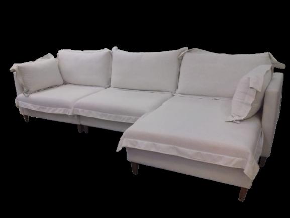 Sofá com Almofadas Soltas Modulado Ipanema