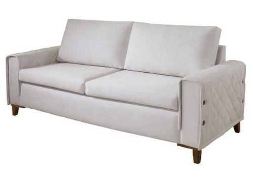 Sofá Fixo de Luxo Glamour