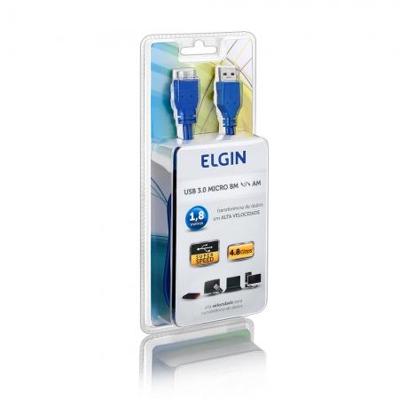 CABO USB 3.0 AM - BM MICRO 1,8 METROS ELGIN