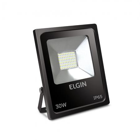 PROJETOR LED 30W 6500K PRETO ELGIN - 48RPLED30W00