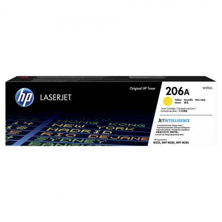 TONER HP AMARELO 206A M283FDW 1.250 PAG W2112A