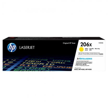 TONER HP AMARELO 206X M283FDW 2.450 PAG W2112X