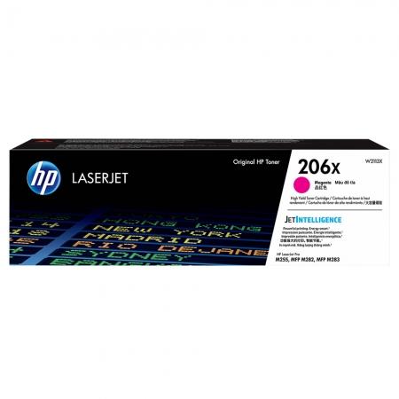 TONER HP MAGENTA 206X M283FDW 2.450 PAG W2113X