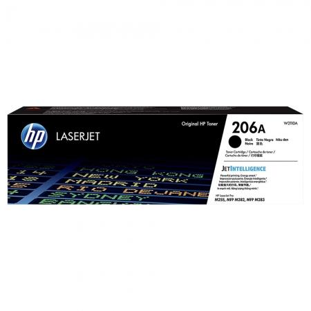 TONER HP PRETO 206A M283FDW 1.350 PAG W2110A