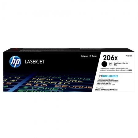 TONER HP PRETO 206X M283FDW 3.150 PAG W2110X