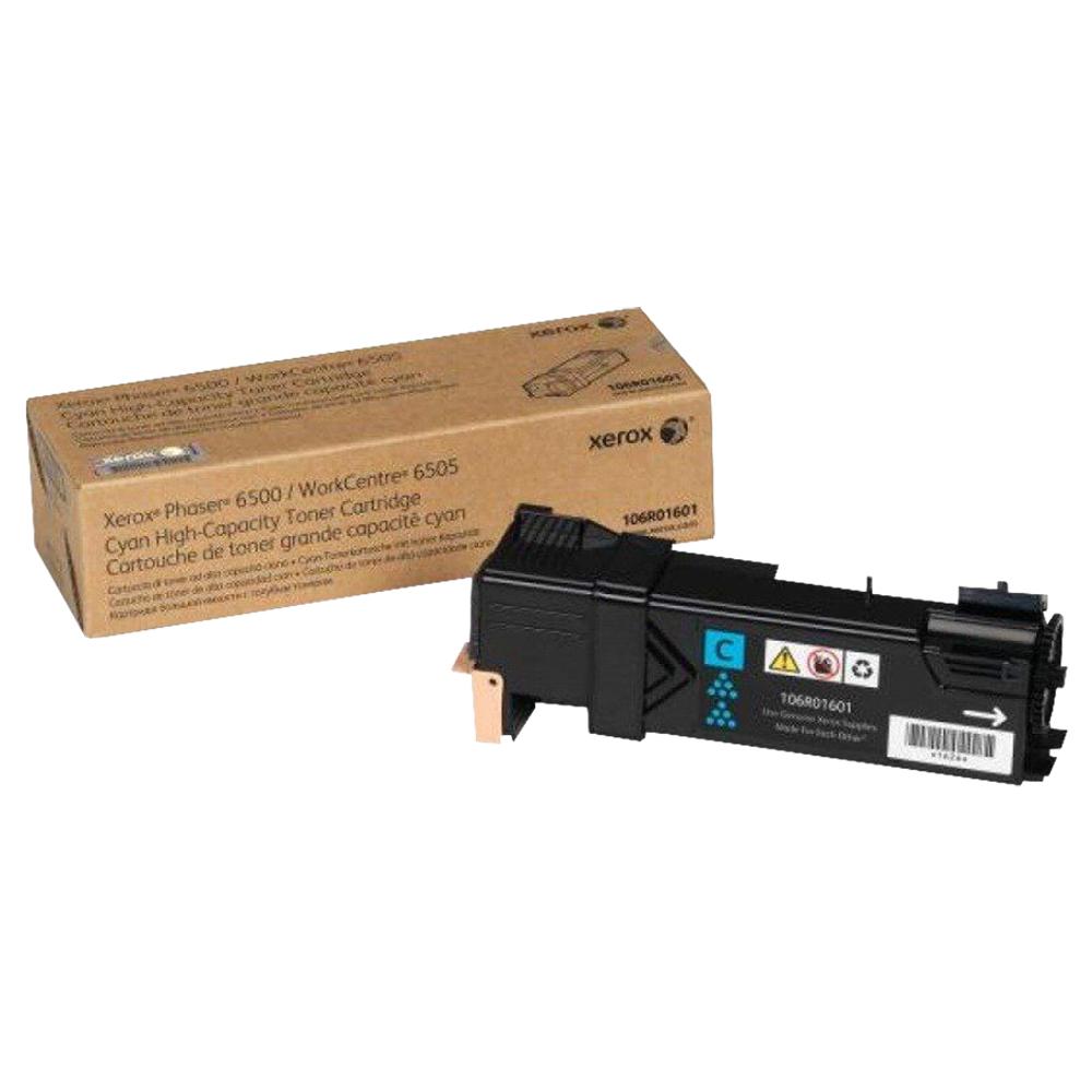 CARTUCHO DE TONER XEROX 6500 CIANO - 106R01601