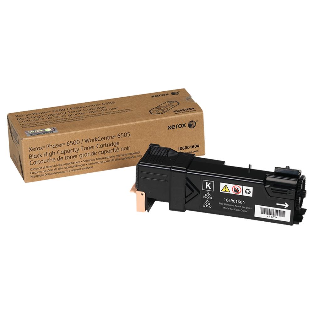CARTUCHO DE TONER XEROX 6500 PRETO - 106R01604
